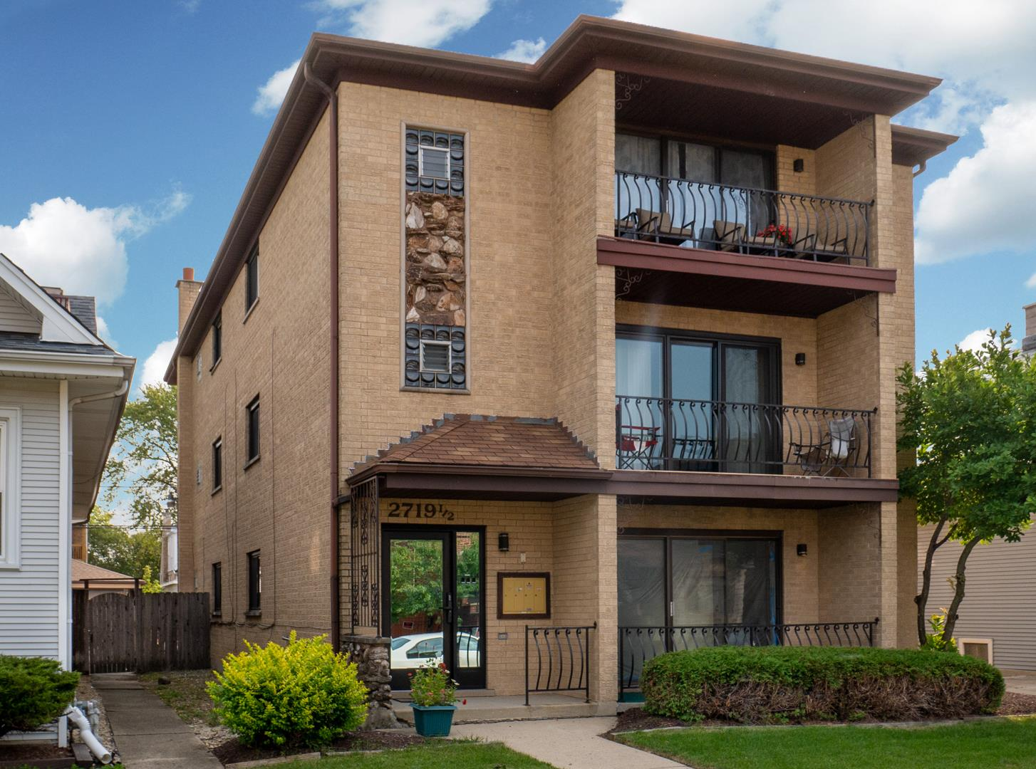 2719 1\/2 N 74th Avenue #3, Elmwood Park, IL 60707 - #: 10879132