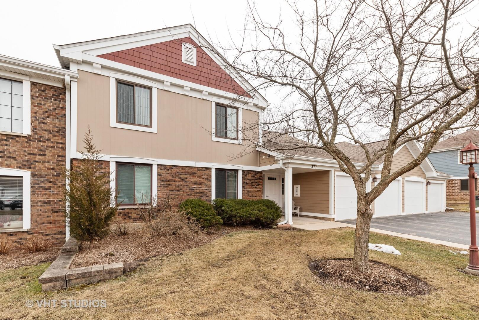 377 Sandalwood Lane #D2, Schaumburg, IL 60193 - #: 10647170
