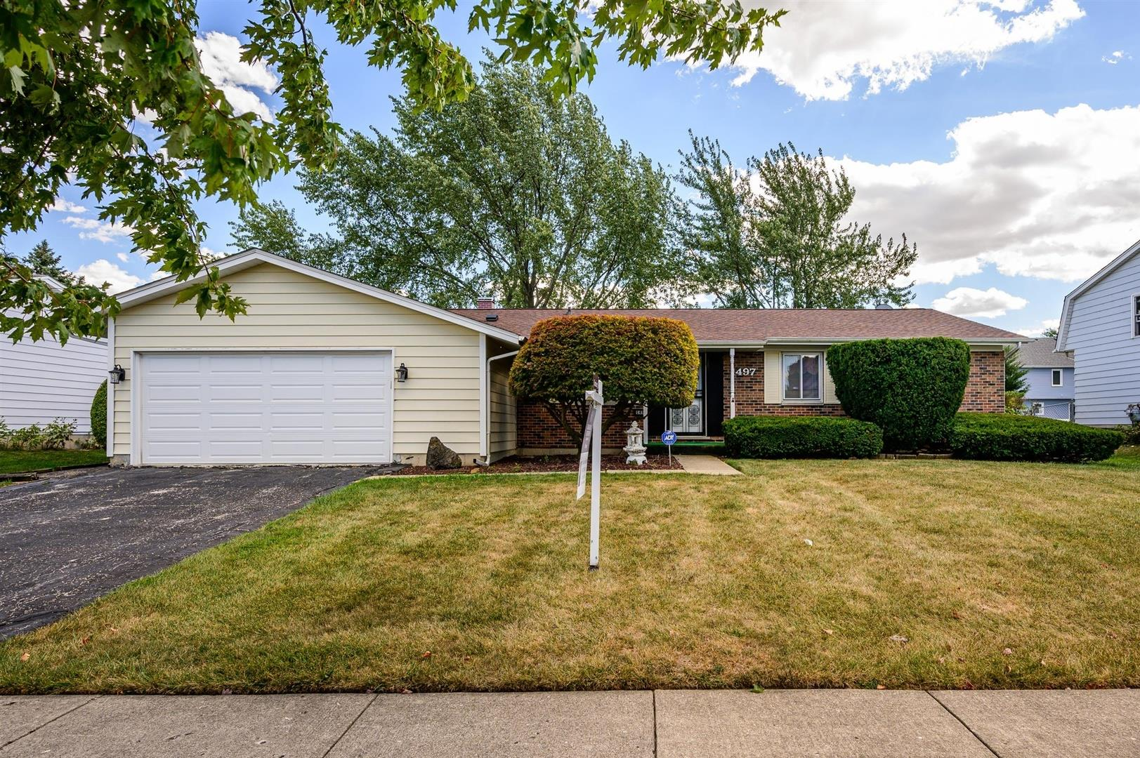 1497 Kathleen Way, Elk Grove Village, IL 60007 - #: 10837175