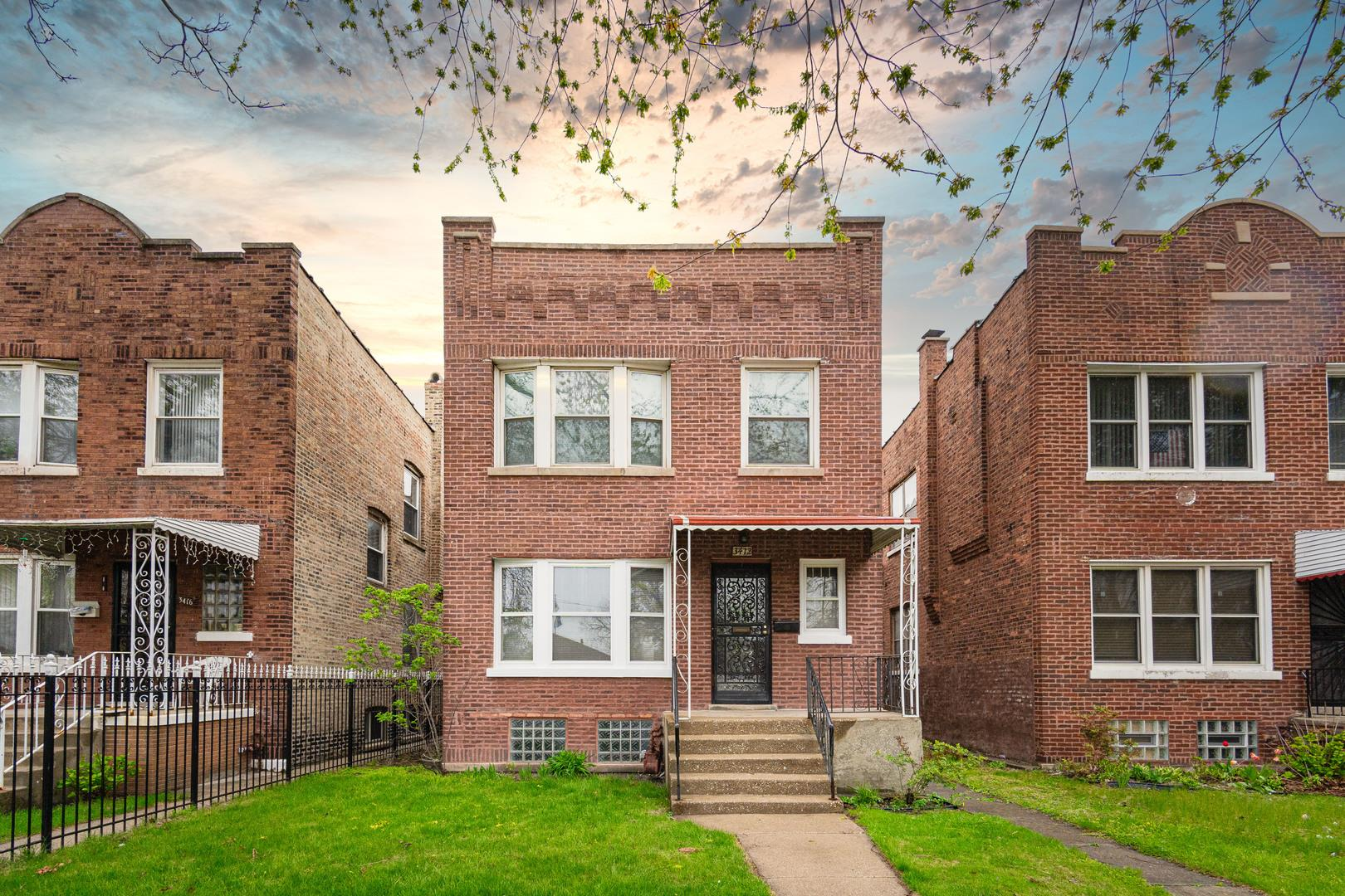 3412 S Hamilton Avenue, Chicago, IL 60608 - #: 11059185