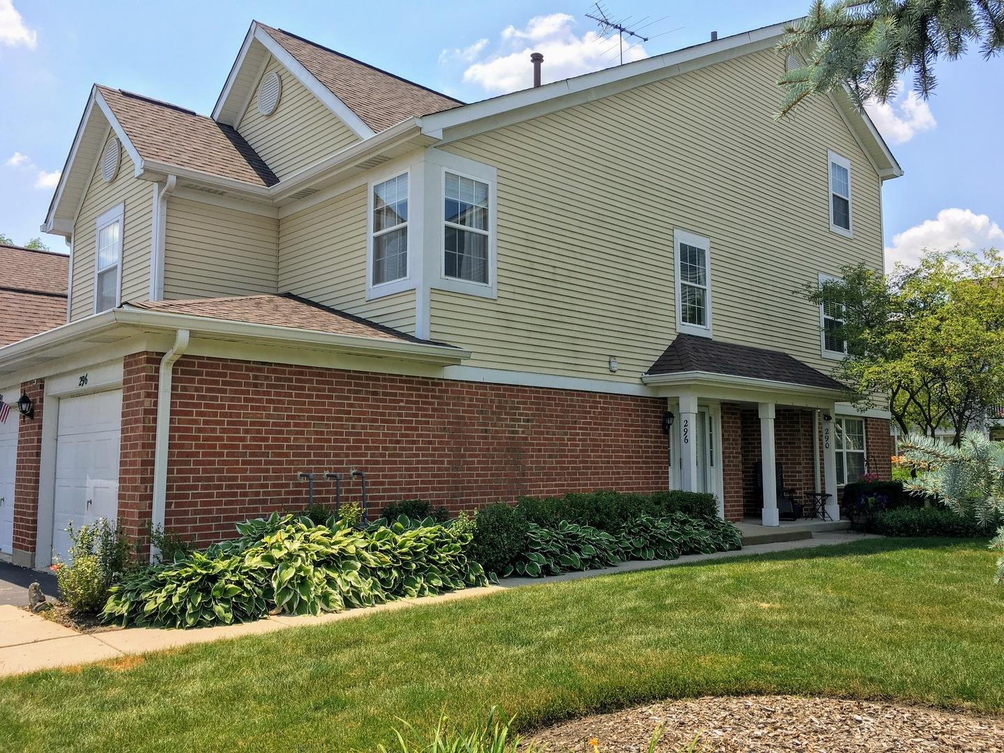 296 Ashbury Lane, Roselle, IL 60172 - #: 10774232