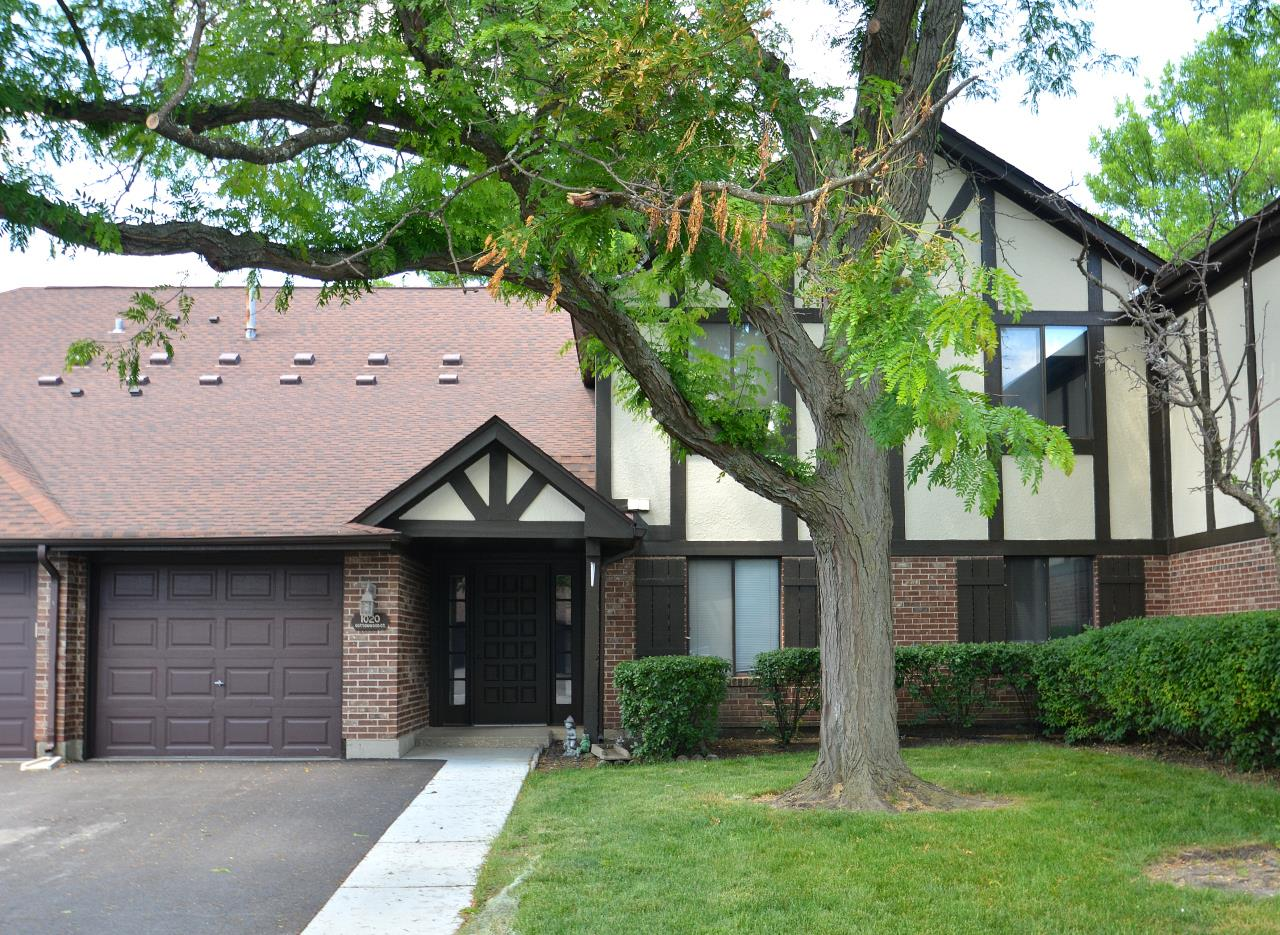 1020 COTTONWOOD Court #1-B, Wheeling, IL 60090 - #: 10763235