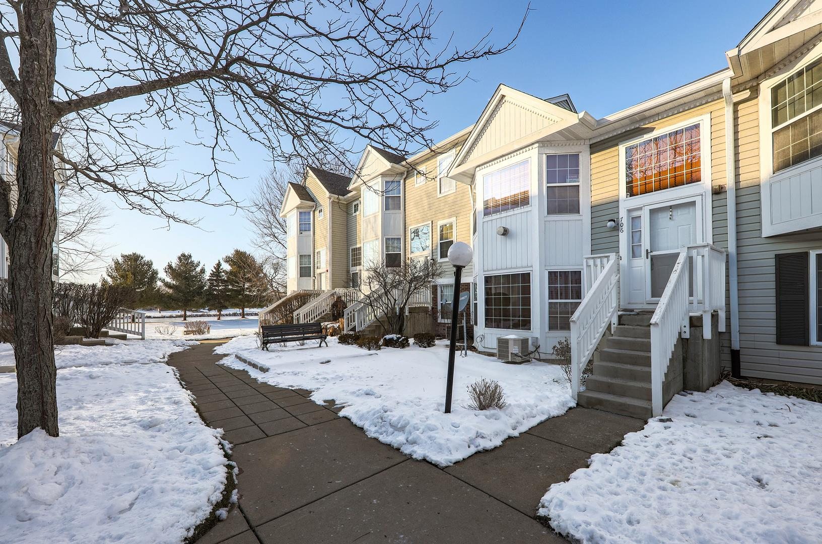 706 Hidden Creek Lane #706, North Aurora, IL 60542 - #: 10970237