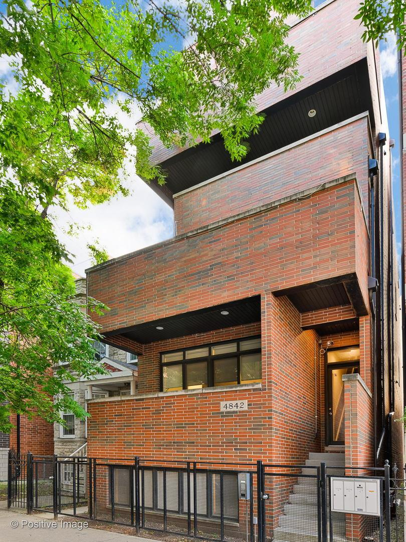 4842 N Damen Avenue #2, Chicago, IL 60625 - #: 10896240