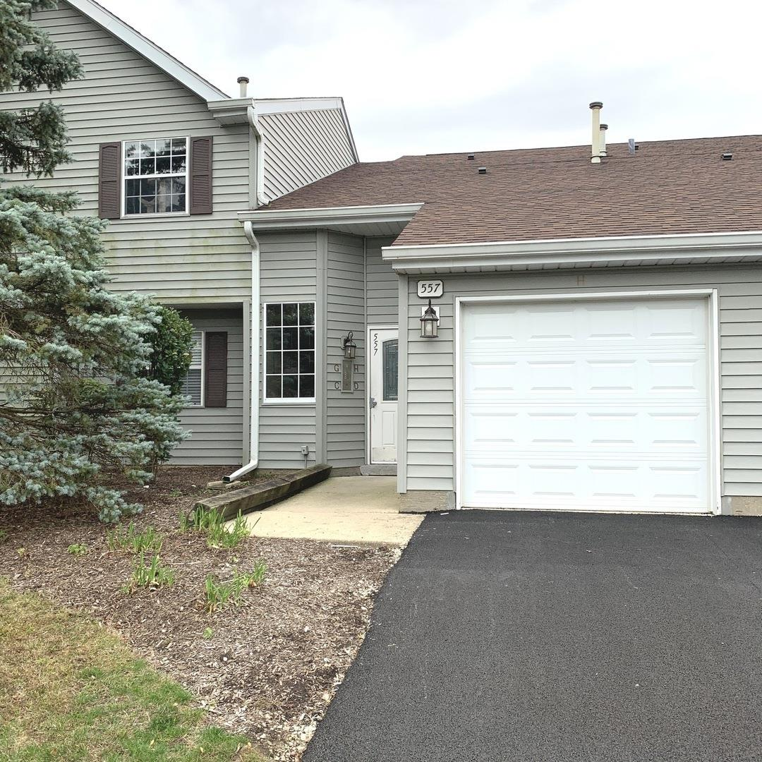557 E Shag Bark Lane #H, Streamwood, IL 60107 - #: 10891248