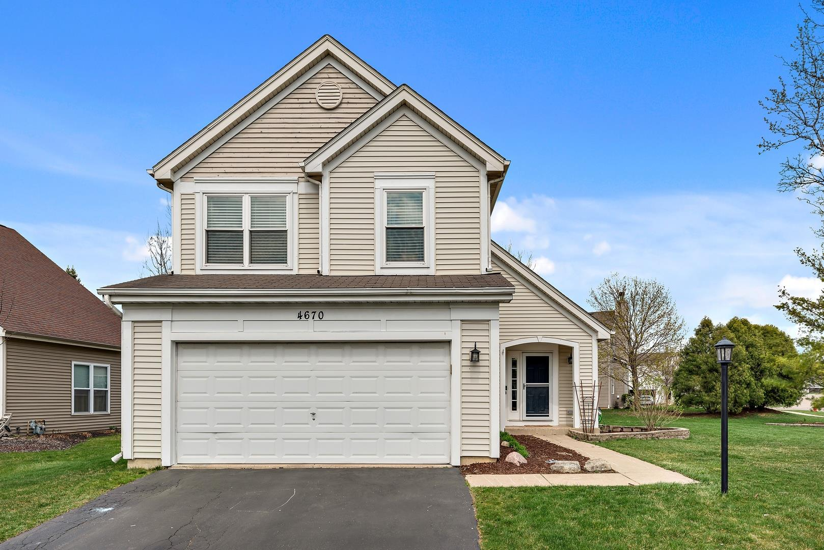4670 Rolling Hills Drive, Lake in the Hills, IL 60156 - #: 11048252