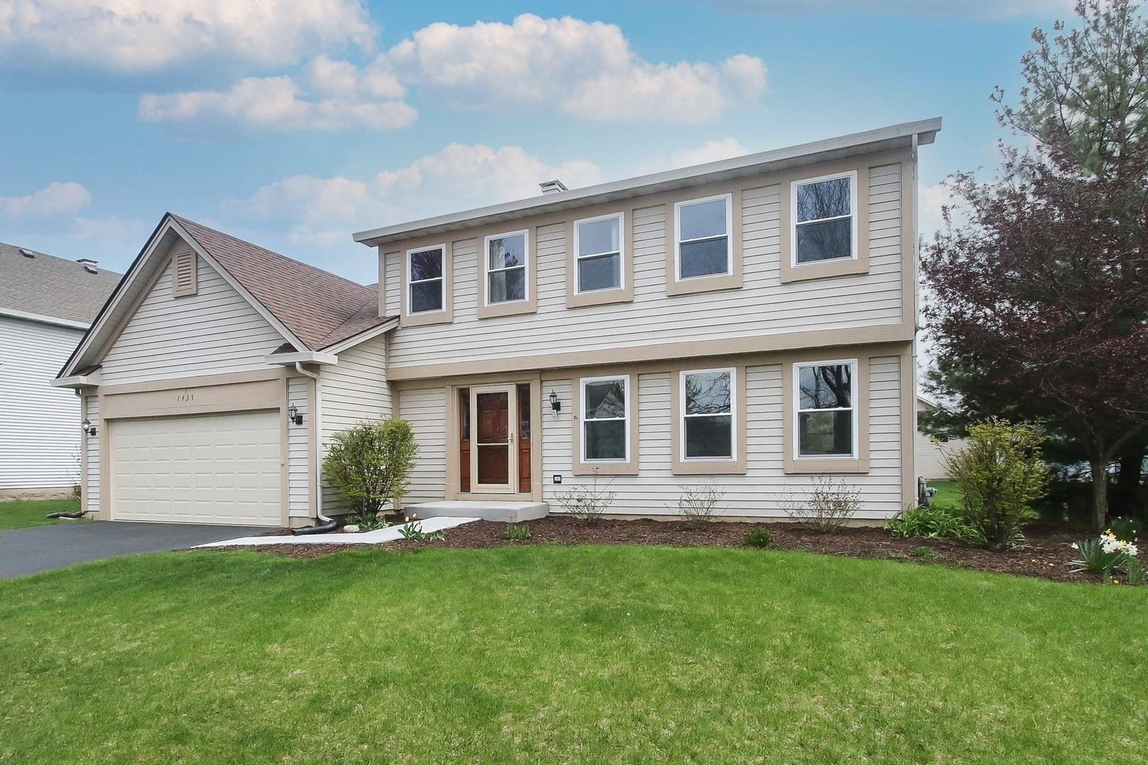 1435 Whitehorse Lane, Bartlett, IL 60103 - #: 11062258