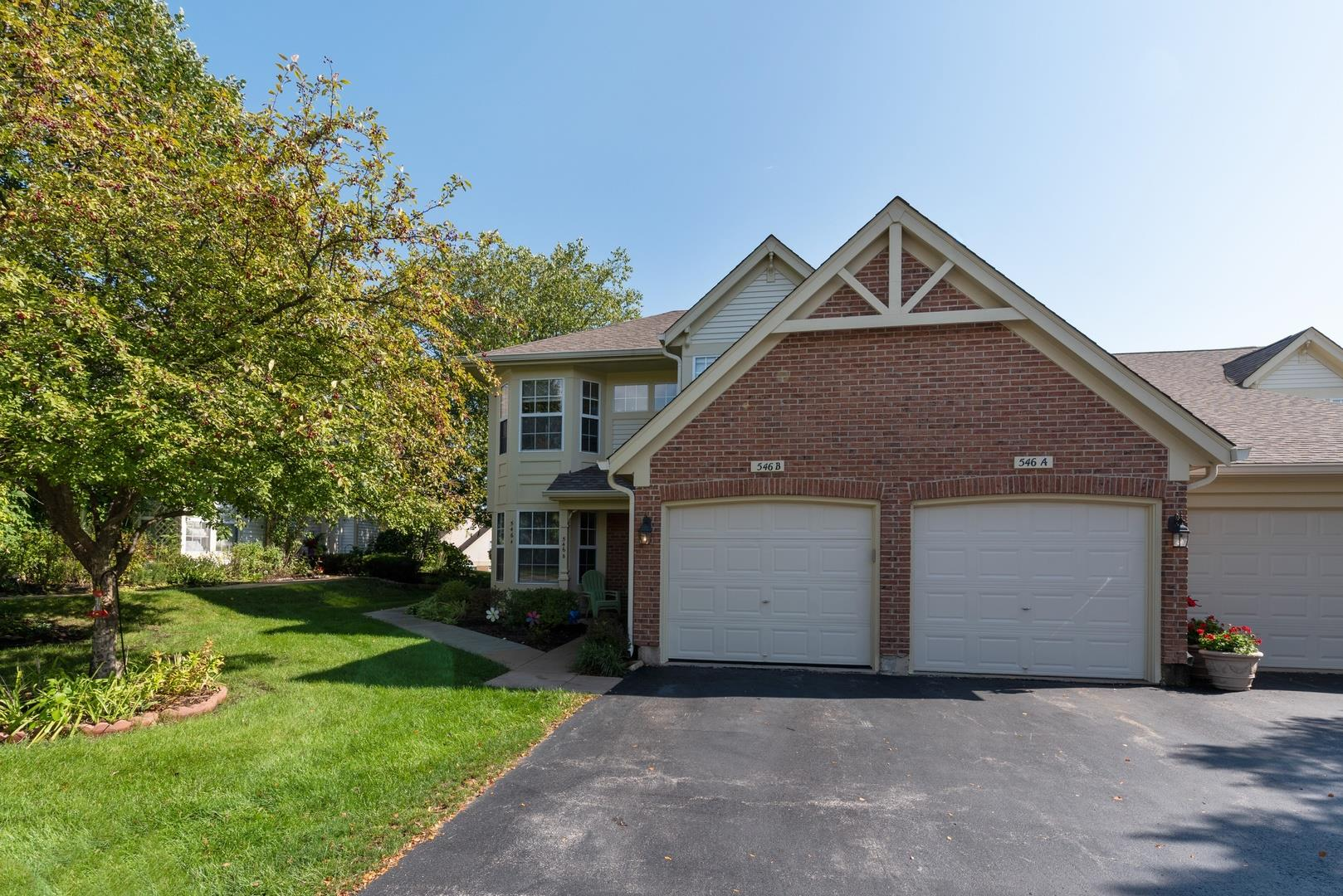 546 Portsmith Court UNIT A, Crystal Lake, IL 60014 - #: 10534265