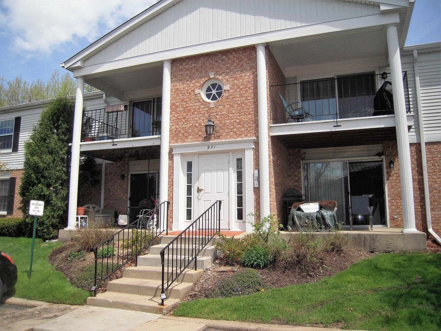 971 Golf Course Road UNIT 2, Crystal Lake, IL 60014 - #: 10384266