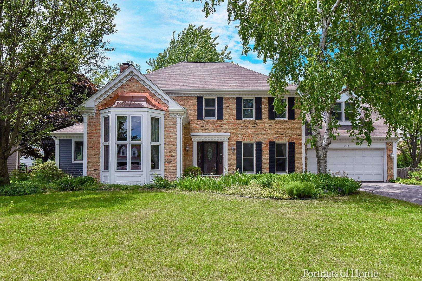 1914 Berkshire Place, Wheaton, IL 60189 - #: 10886266