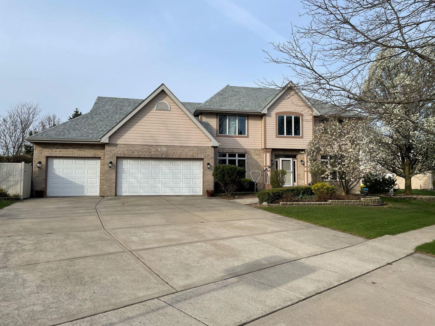 3214 Hickory Creek Drive, New Lenox, IL 60451 - #: 11077273