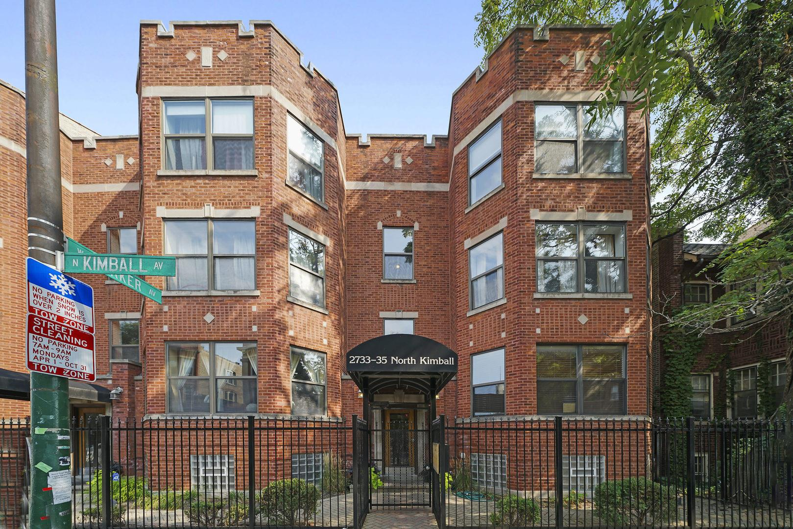 2733 N KIMBALL Avenue #8, Chicago, IL 60647 - #: 10903274