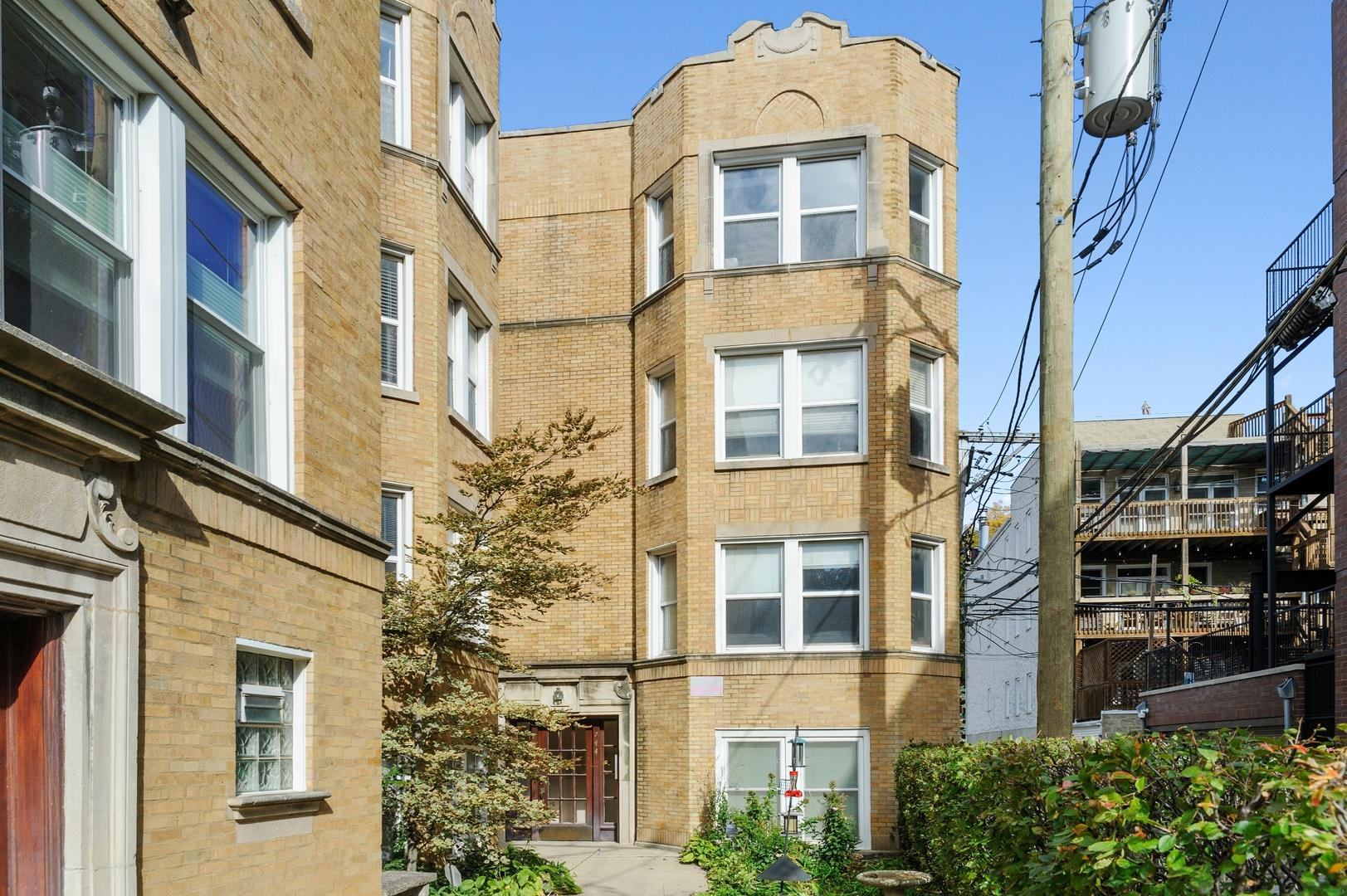 744 W Melrose Street #3, Chicago, IL 60657 - #: 10911279
