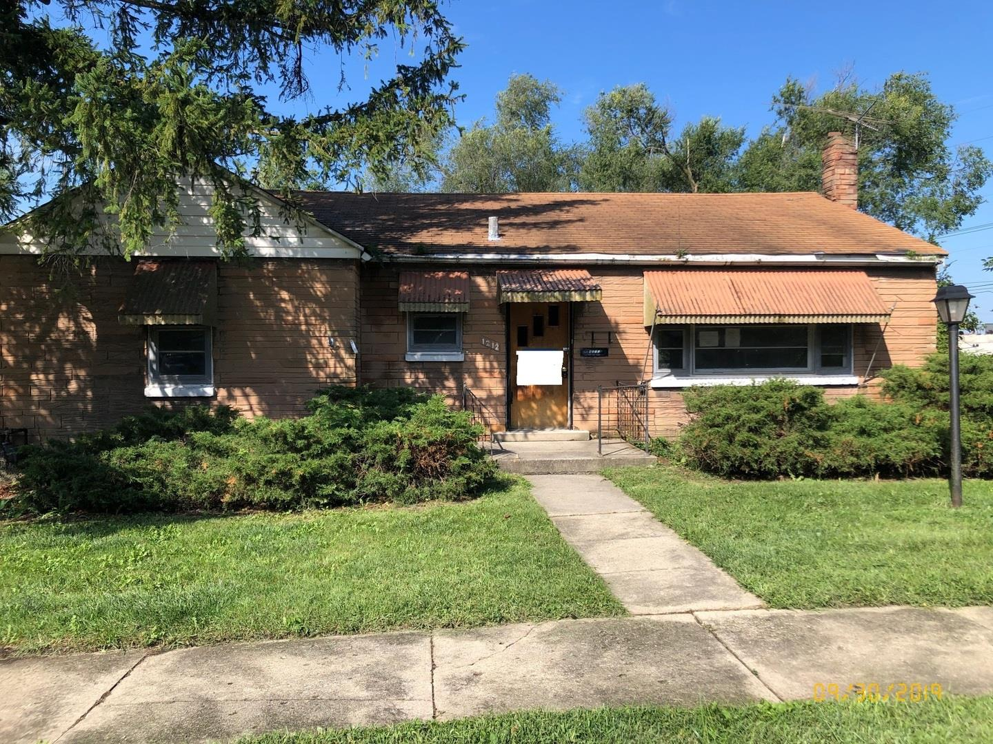 1212 Lincoln Avenue, Chicago Heights, IL 60411 - #: 10537281