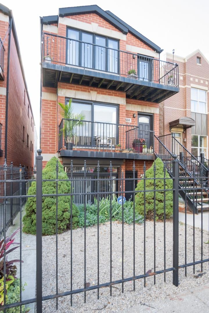 514 S CAMPBELL Avenue #1, Chicago, IL 60612 - #: 10854288