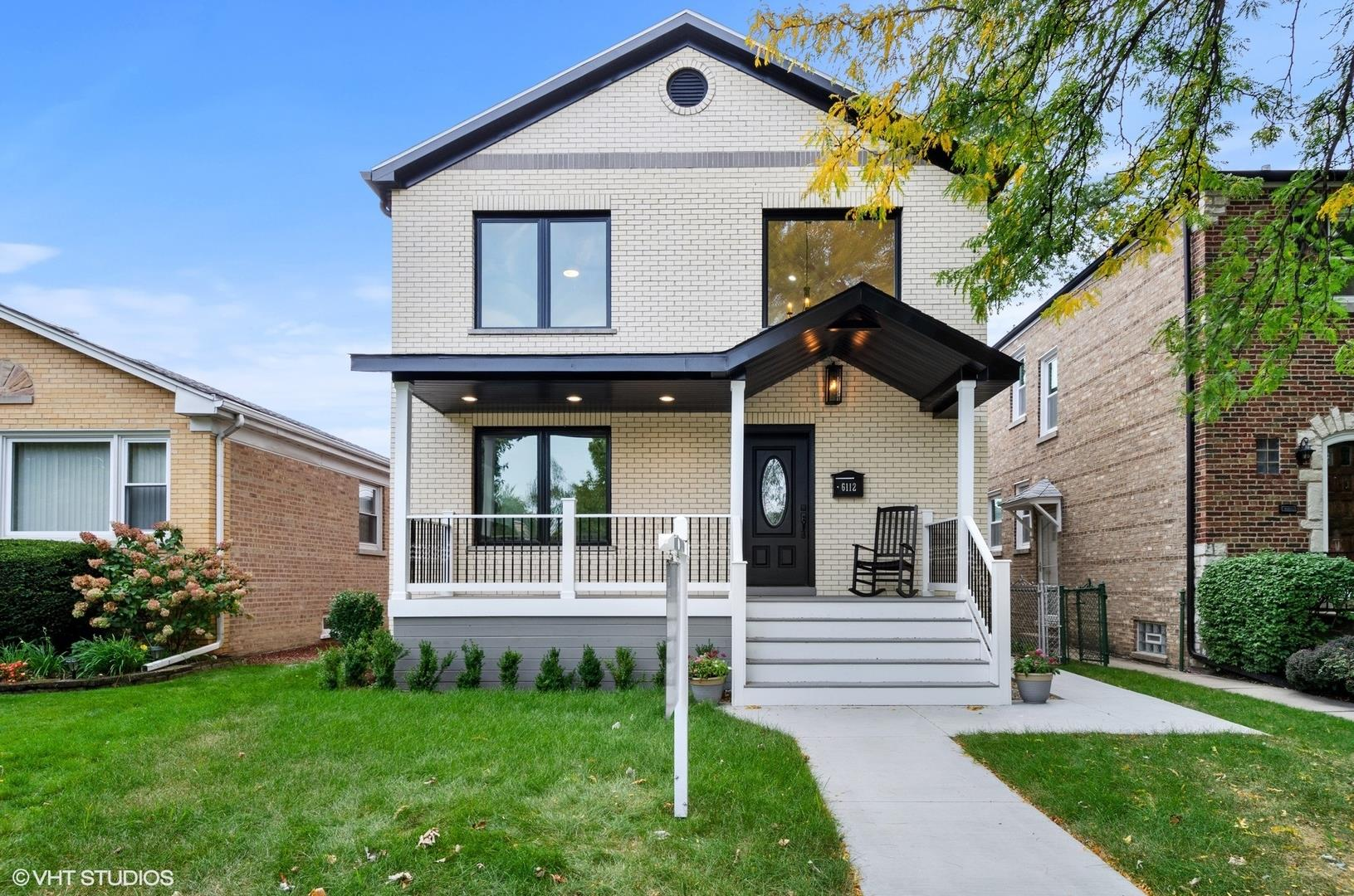 6112 N KEDVALE Avenue, Chicago, IL 60646 - #: 10882296