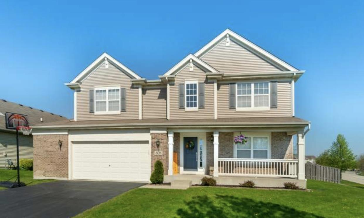 808 Portsmouth Drive, Pingree Grove, IL 60140 - #: 10984302