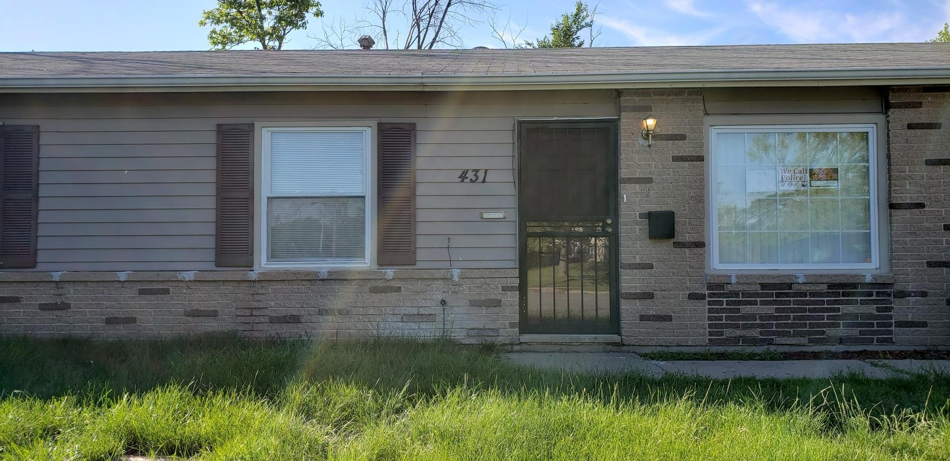 431 Lawrence Avenue, Chicago Heights, IL 60411 - #: 10922306