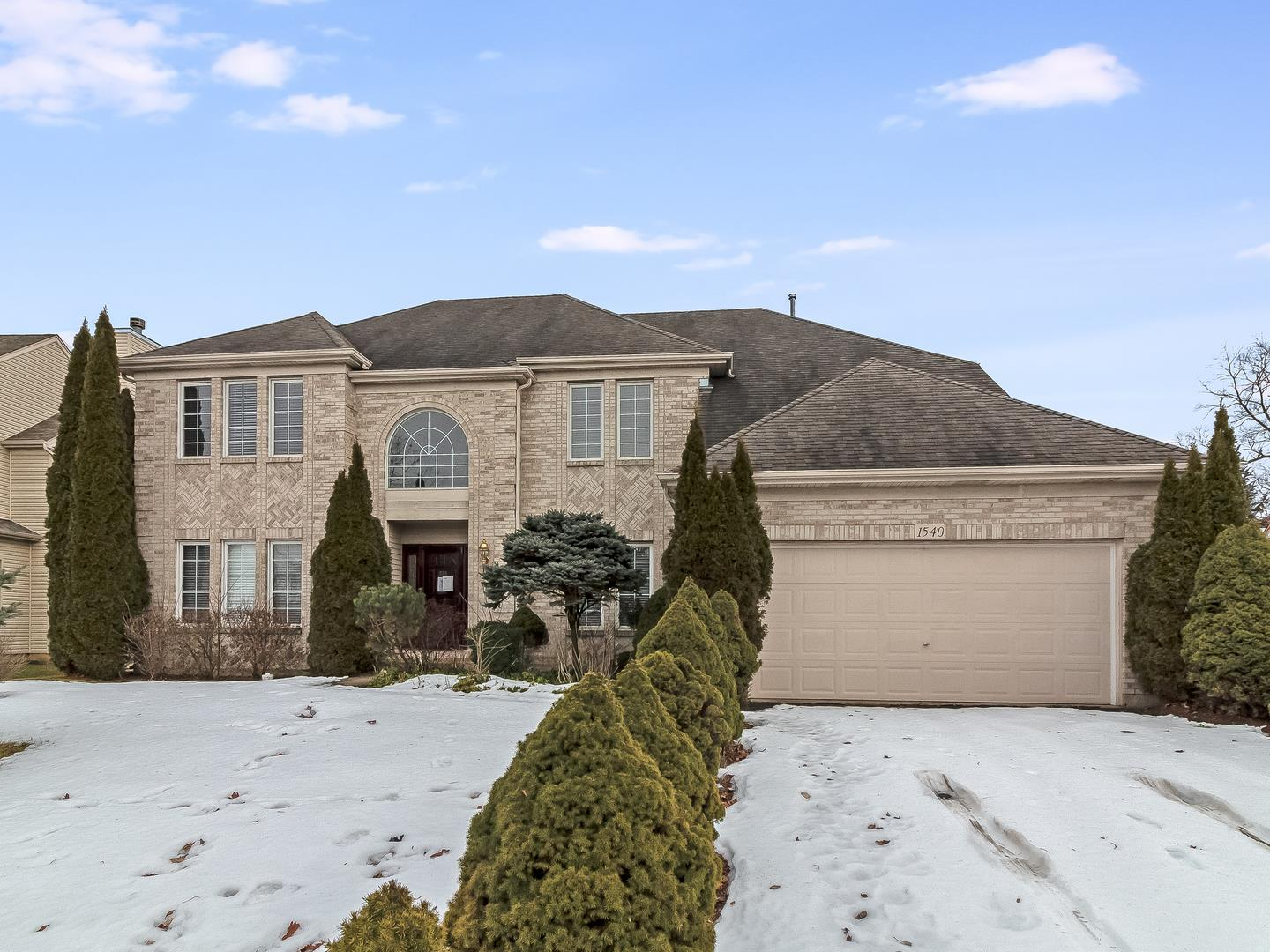 1540 SOUTHRIDGE Trail, Algonquin, IL 60102 - #: 10642307