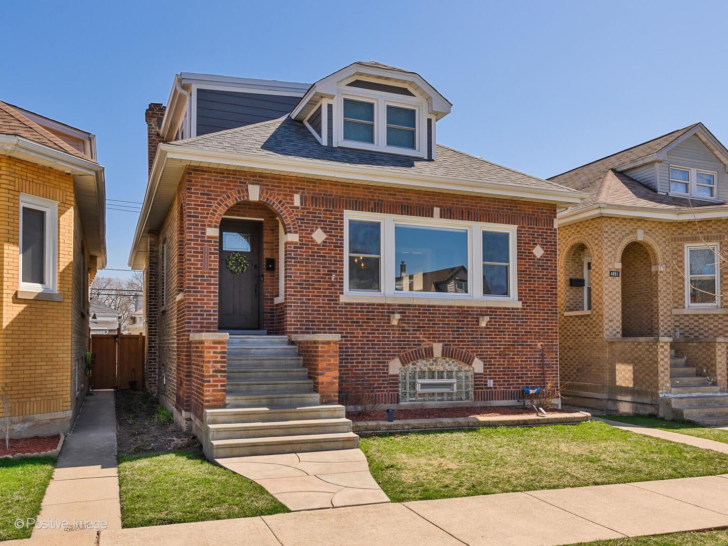 4855 N MERRIMAC Avenue, Chicago, IL 60630 - #: 11045336