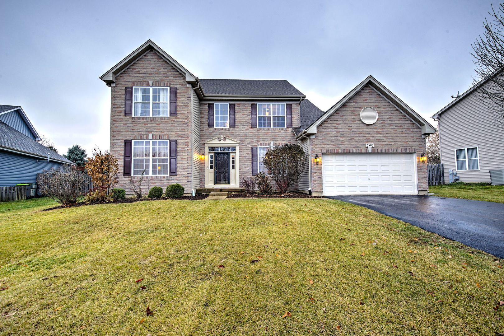 340 Sutton Court, Sugar Grove, IL 60554 - #: 10695340