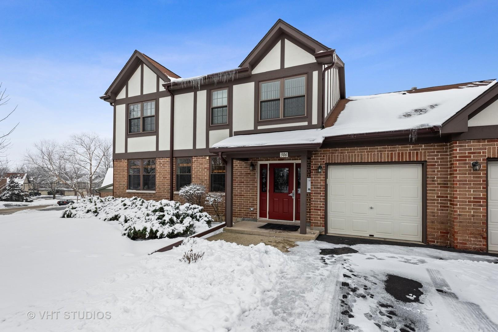 306 Carriage Way #2-D, Bloomingdale, IL 60108 - #: 10998341