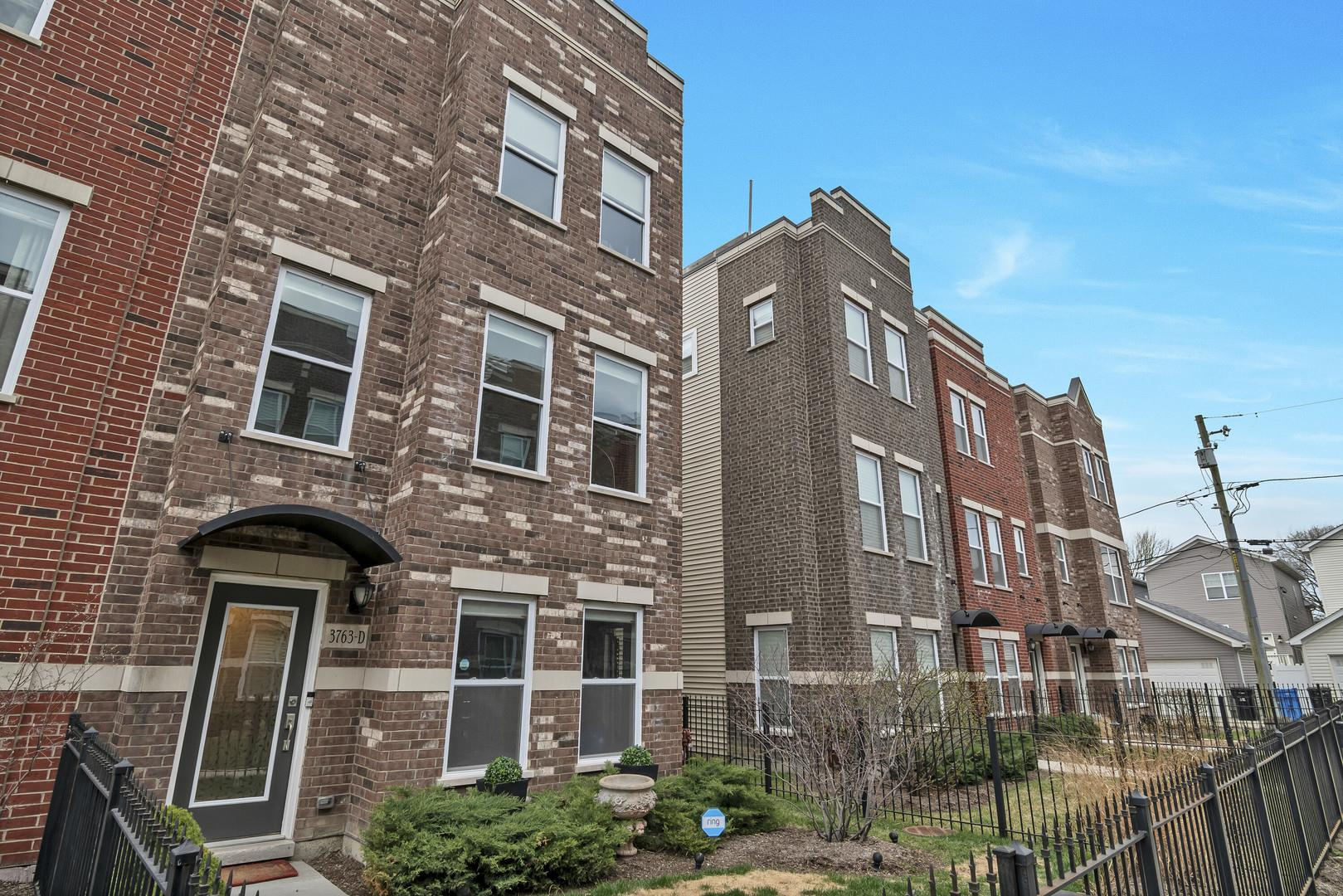 3763 S Morgan Street #D, Chicago, IL 60609 - #: 11042342