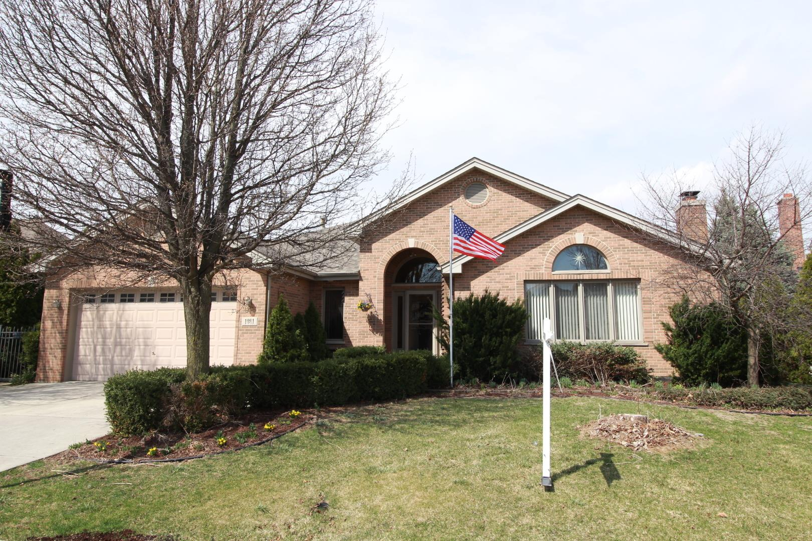 1081 Berkley Lane, Lemont, IL 60439 - #: 11034357