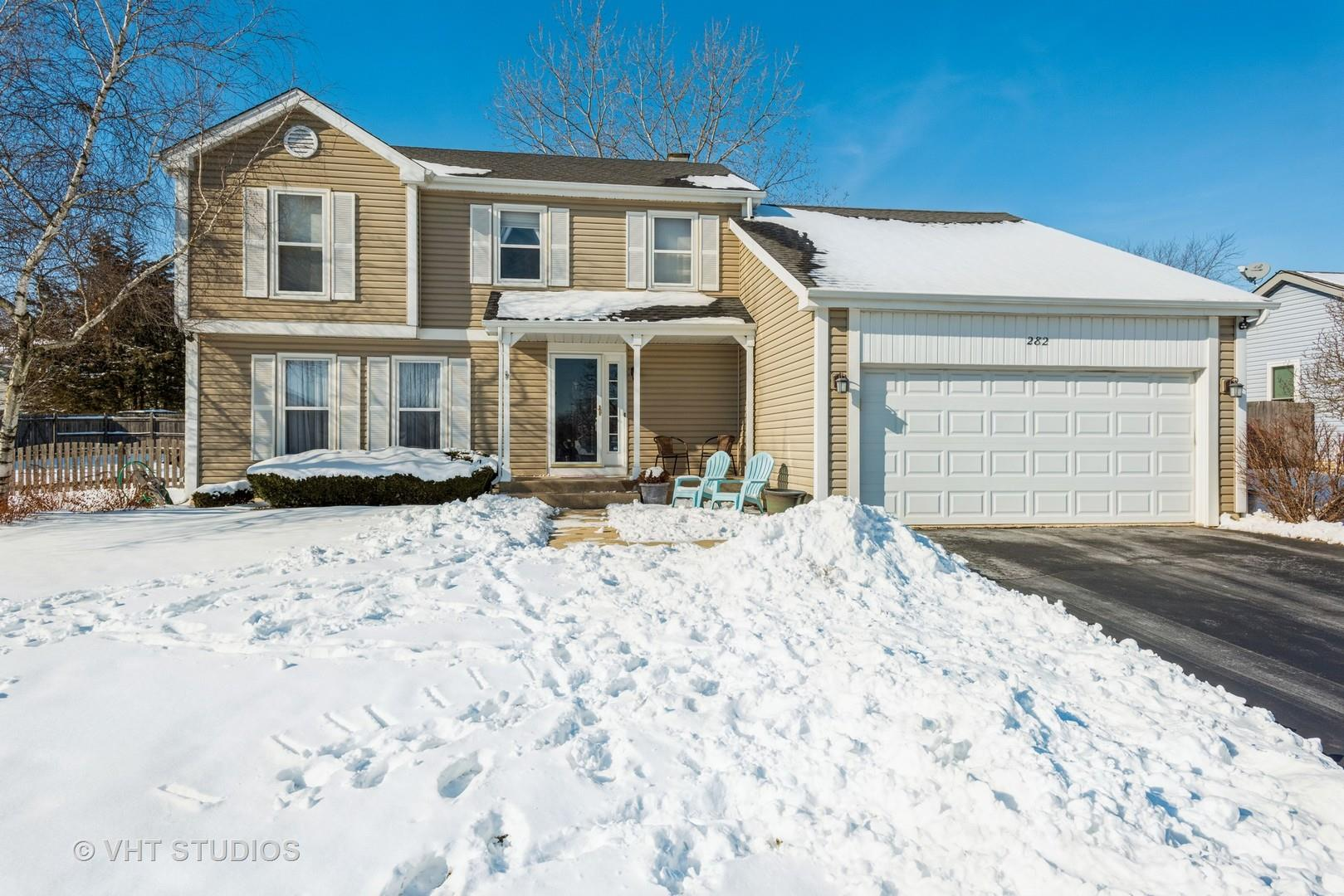 282 Abbeywood Lane, North Aurora, IL 60542 - #: 11009360