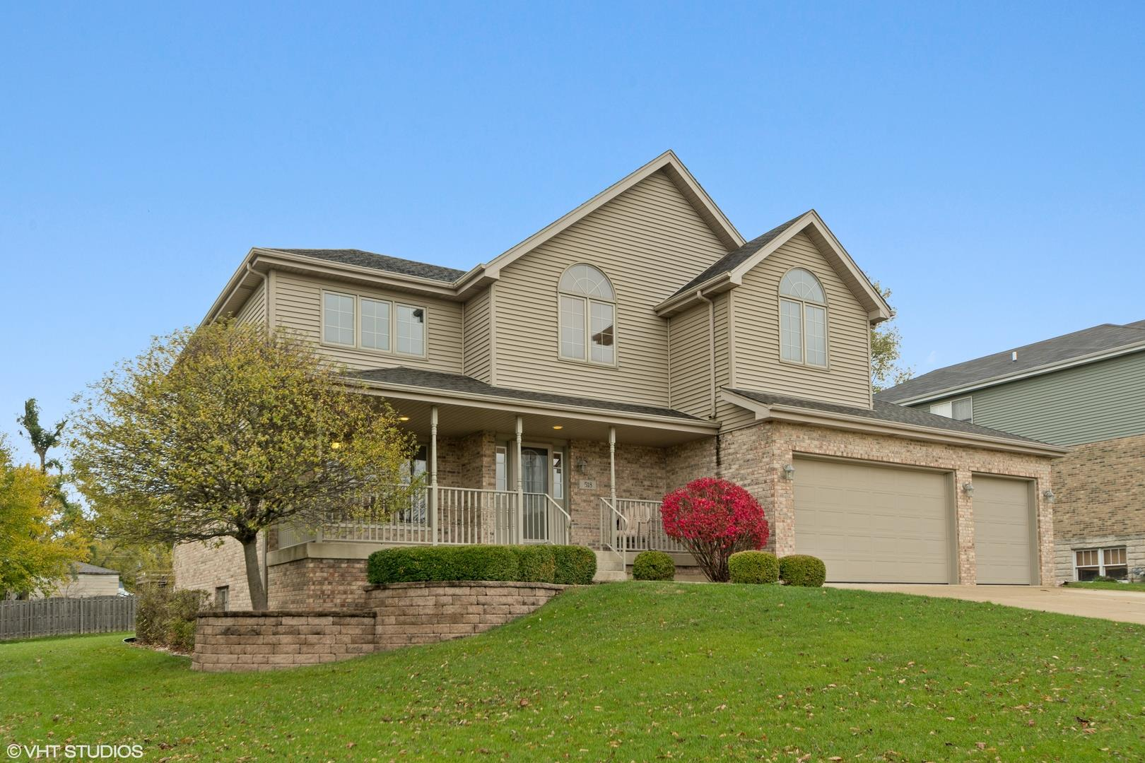 518 Deerfield Lane, New Lenox, IL 60451 - #: 10942367