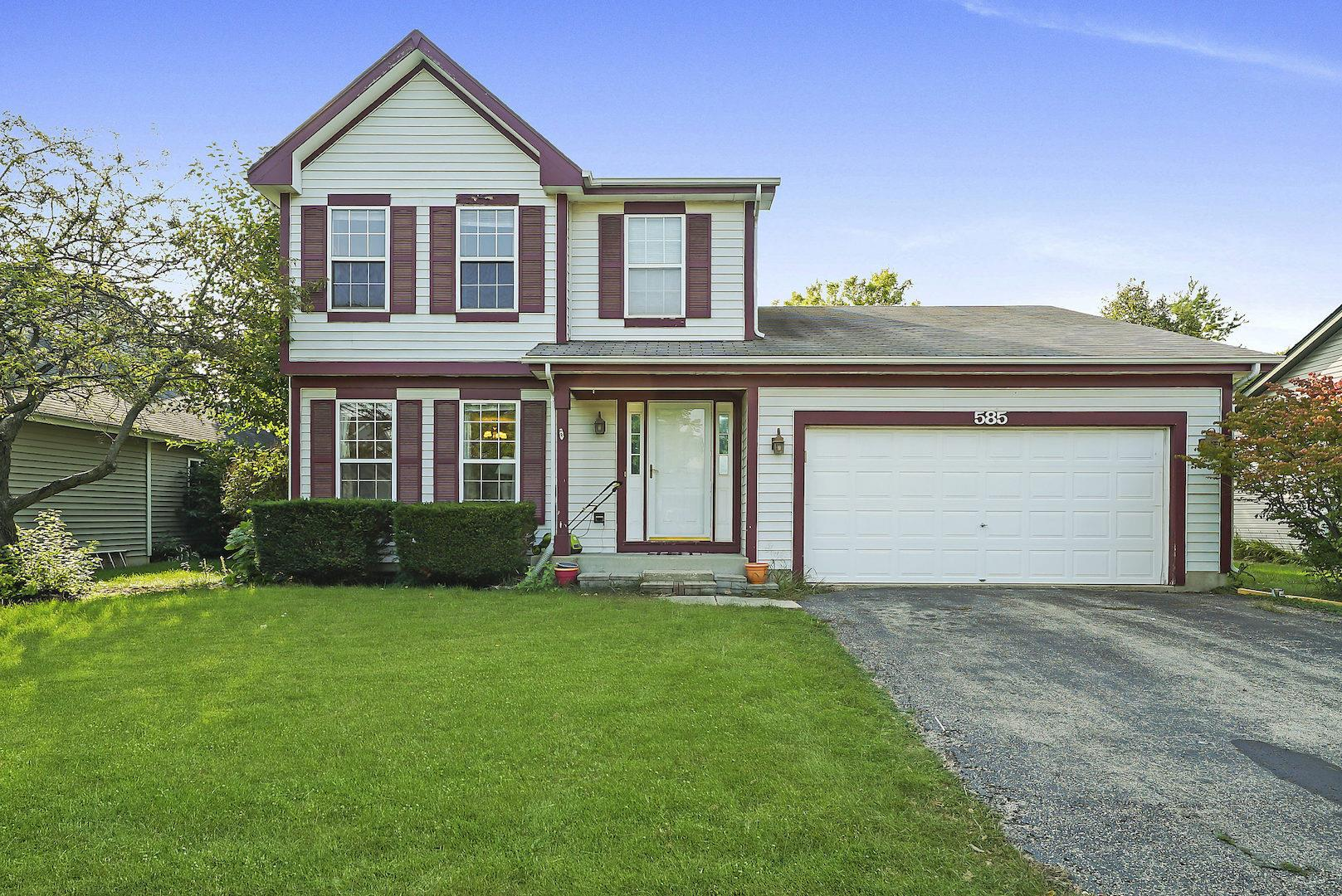 585 RED BARN Trail, Bolingbrook, IL 60490 - #: 10855370