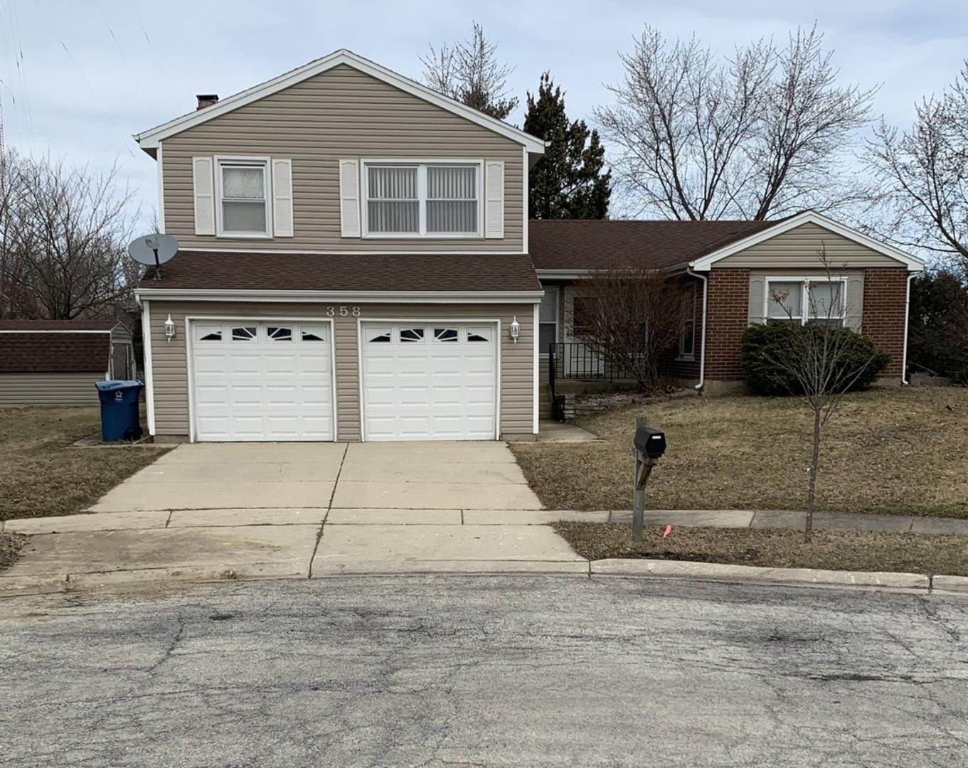 358 N Brandon Drive, Glendale Heights, IL 60139 - #: 11021378
