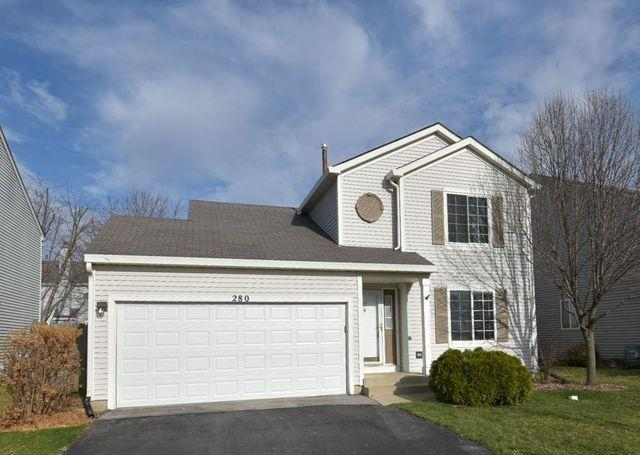 280 BRIDLEWOOD Circle, Lake in the Hills, IL 60156 - #: 10685392