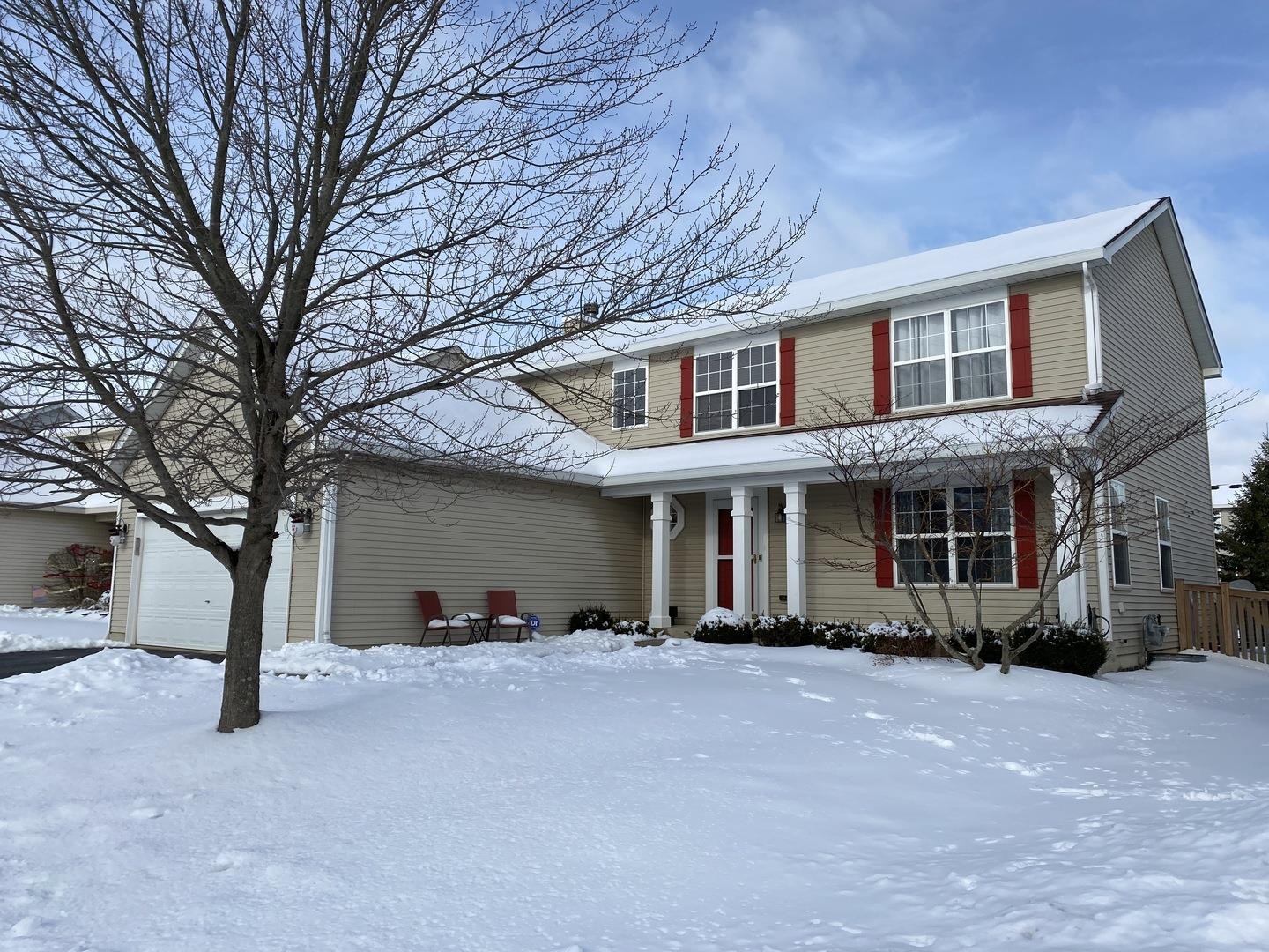 1425 Fox Sedge Trail, Woodstock, IL 60098 - #: 10973411