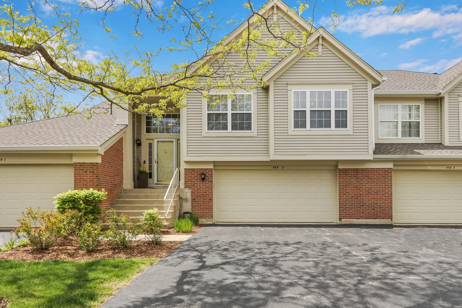 454 MAYFLOWER Lane #2, Bartlett, IL 60103 - #: 11080436
