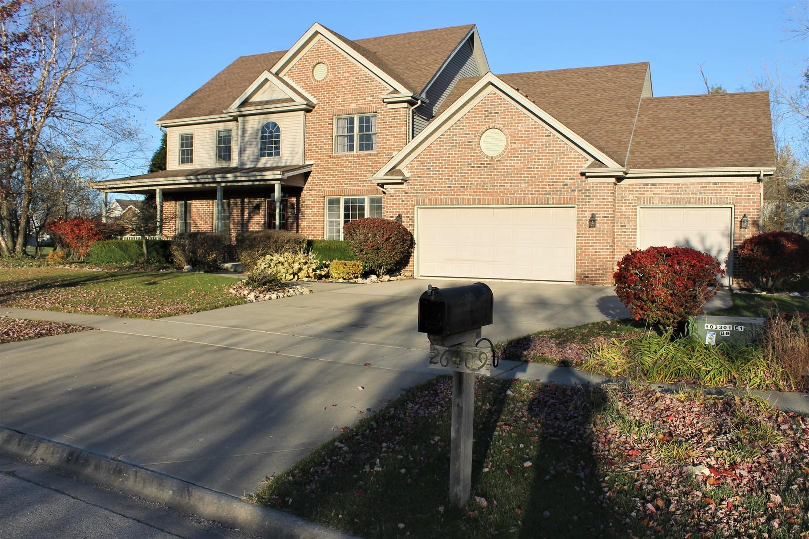 26409 S Evergreen Lane, Channahon, IL 60410 - #: 10924443