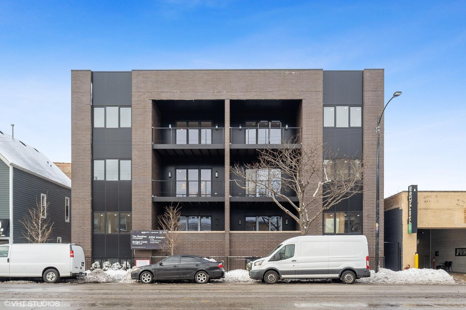 4304 N Western Avenue #1W, Chicago, IL 60618 - #: 10990448