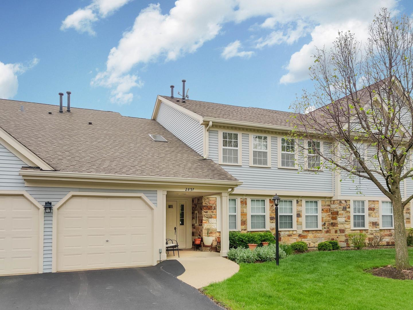 2857 MEADOW Lane #X2, Schaumburg, IL 60193 - #: 11079459