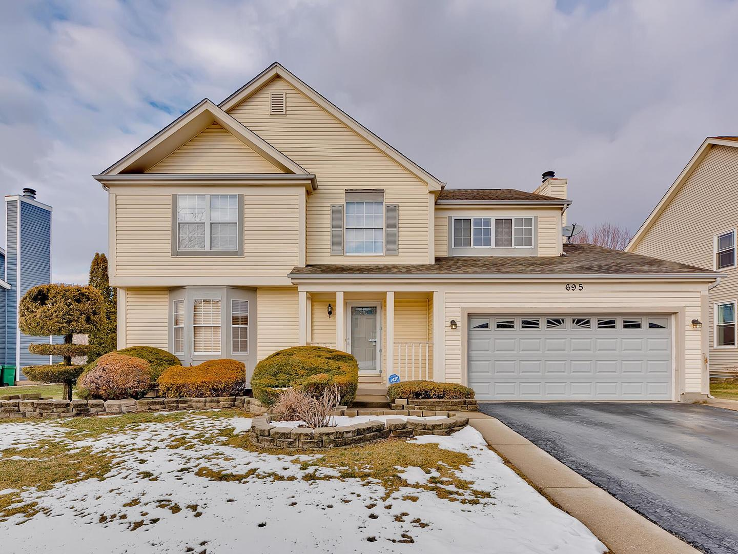 695 Mayfair Drive, Carol Stream, IL 60188 - #: 10974465