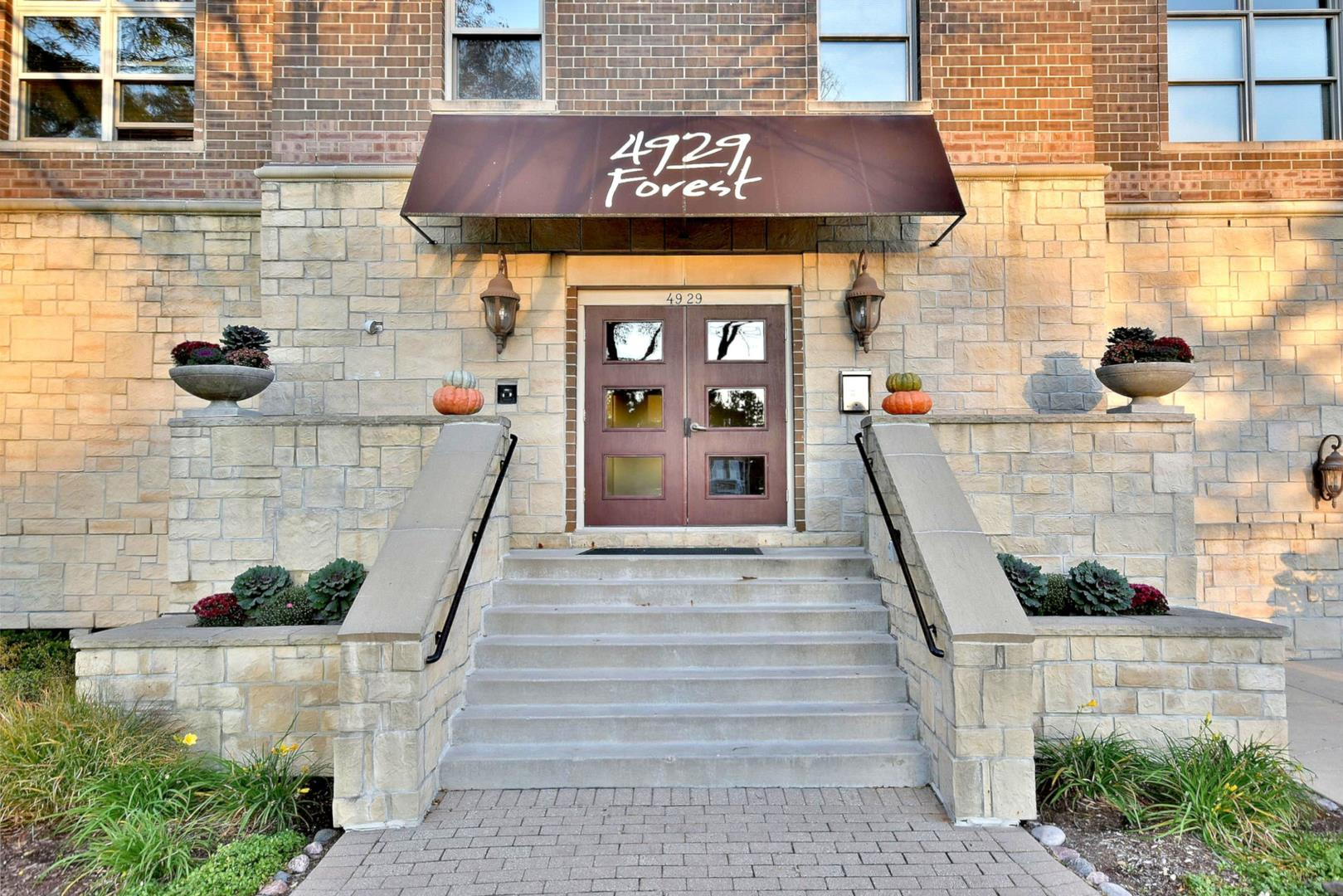 4929 FOREST Avenue #2F, Downers Grove, IL 60515 - #: 10858473