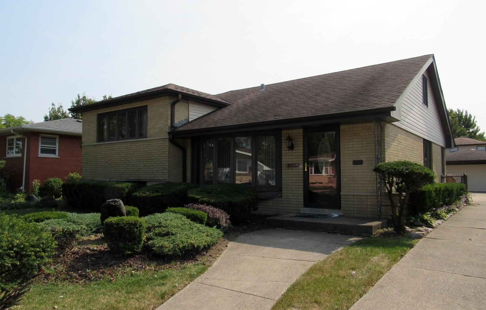 4605 W 99th Place, Oak Lawn, IL 60453 - #: 10879474