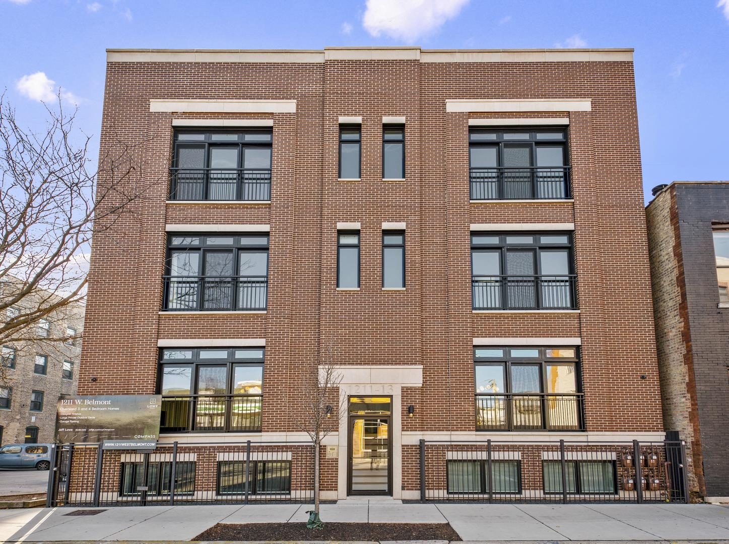 1211 W Belmont Avenue #3W, Chicago, IL 60657 - #: 10954492