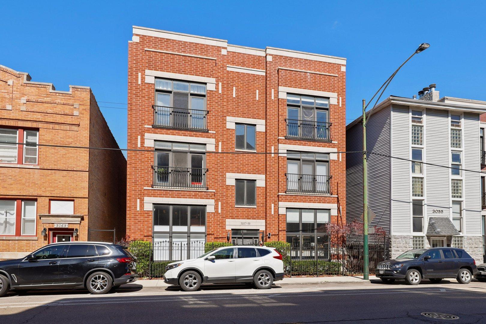3057 N Clybourn Avenue #2S, Chicago, IL 60618 - #: 11032496