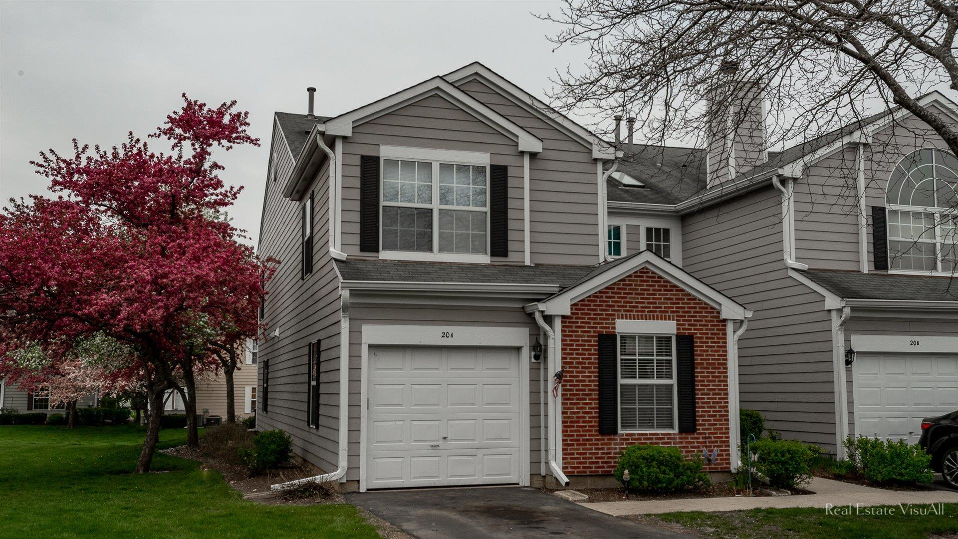 20 HOOVER Court #A, Streamwood, IL 60107 - #: 11070523