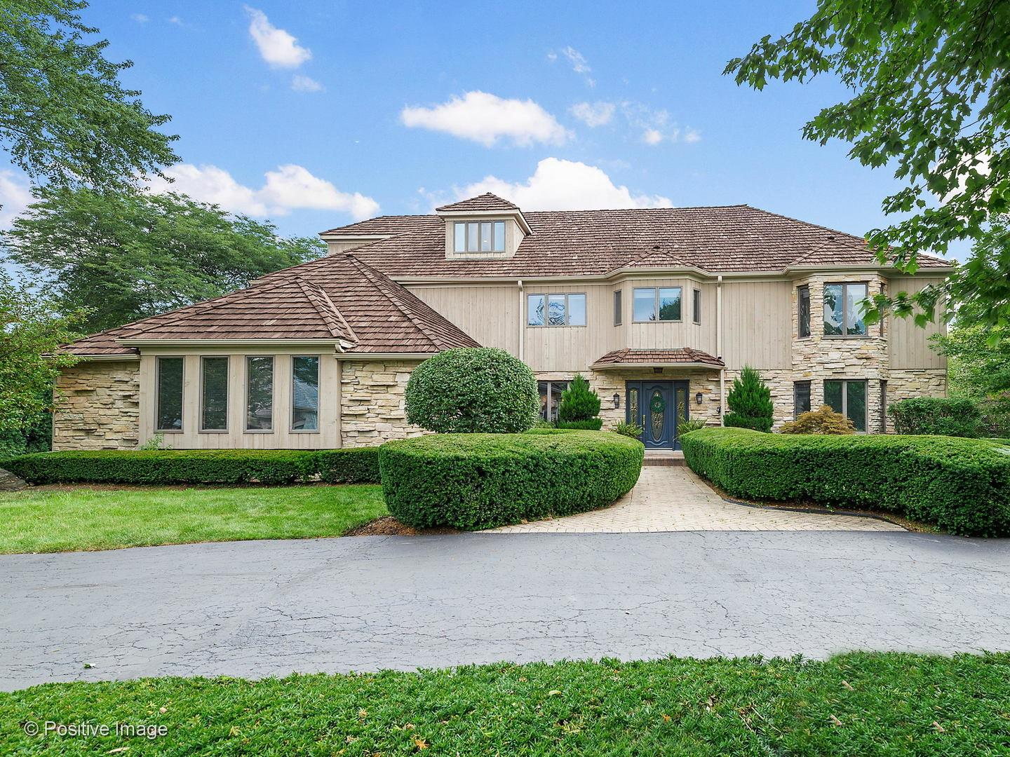 55 Deer Path Trail, Burr Ridge, IL 60527 - #: 10817527