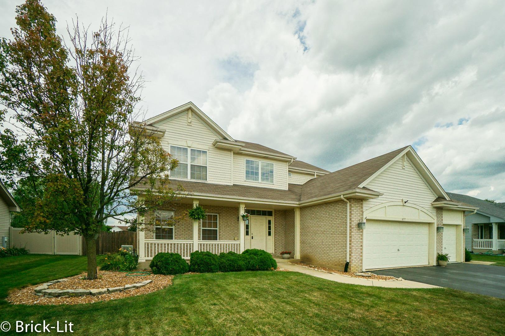 677 Goldfinch Lane, New Lenox, IL 60451 - #: 10902549