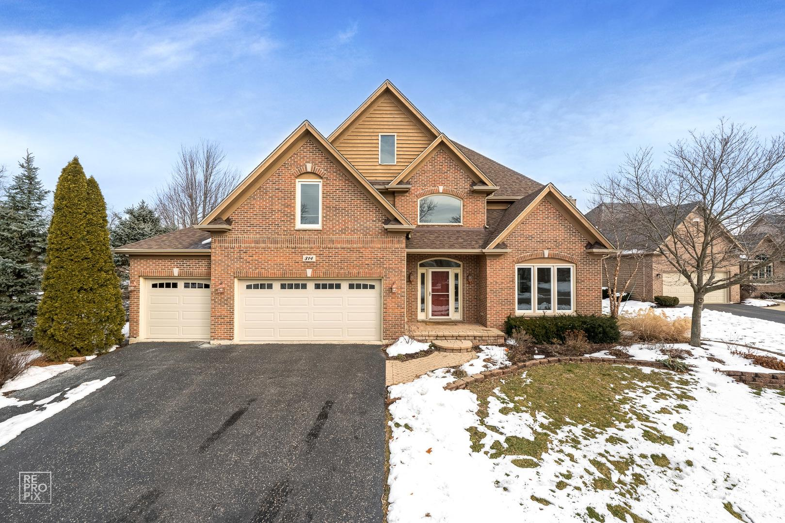 314 Flintlock Court, Oswego, IL 60543 - #: 10969552