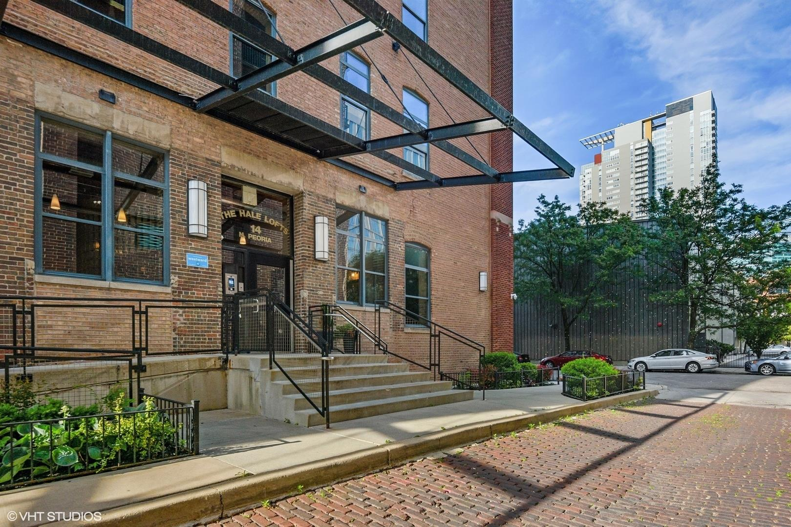 14 N Peoria Street #4A, Chicago, IL 60607 - #: 10887561