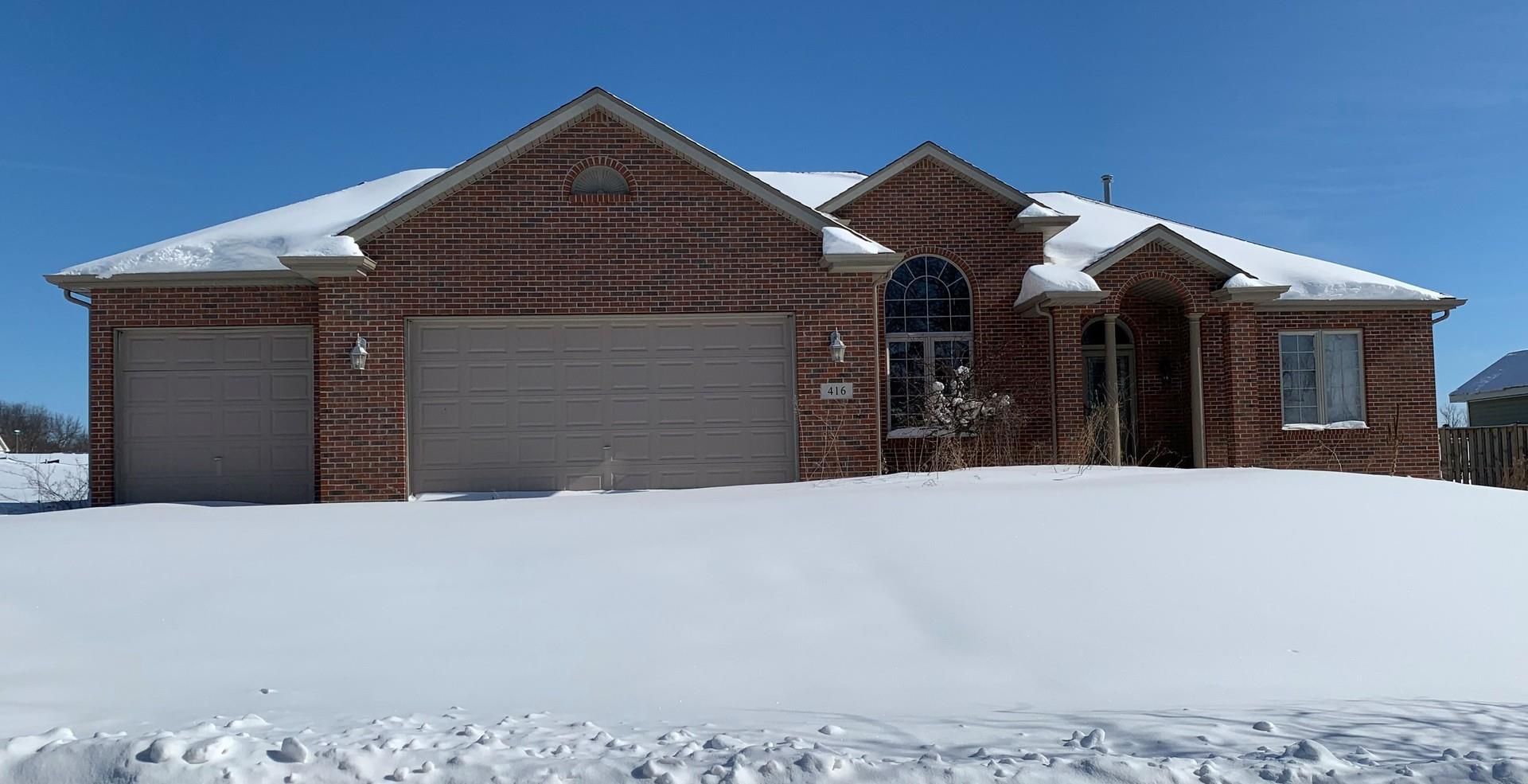 416 Ironwood Drive, Poplar Grove, IL 61065 - #: 10996564