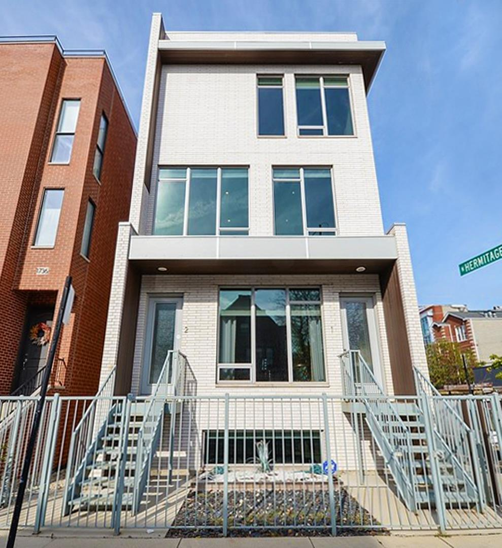 1002 N Hermitage Avenue #2, Chicago, IL 60622 - #: 10877570